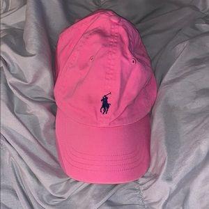 Pink Ralph Lauren Hat
